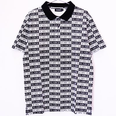 <img class='new_mark_img1' src='//img.shop-pro.jp/img/new/icons5.gif' style='border:none;display:inline;margin:0px;padding:0px;width:auto;' />XLARGE® [S/S ALLOVER PRINTED POLO SHIRT] (BLACK)