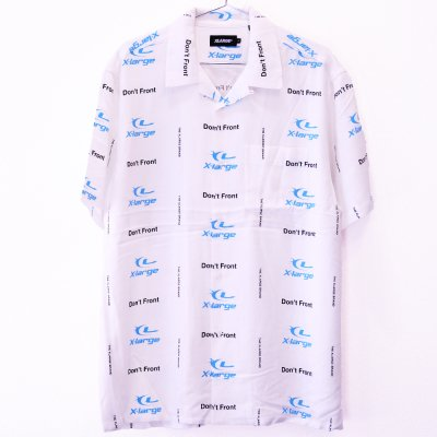 <img class='new_mark_img1' src='//img.shop-pro.jp/img/new/icons5.gif' style='border:none;display:inline;margin:0px;padding:0px;width:auto;' />XLARGE® [S/S LASER ALLOVER PRINTED RAYON SHIRT] (WHITE)