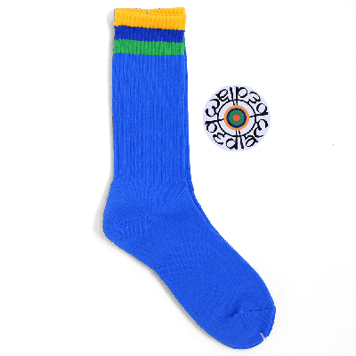 BEDLAM [FLAG SOCKS] (ROYAL BLUE)