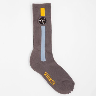 WHIMSY SOCKS [POZESSION SOCKS] (GREY)