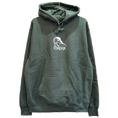 <img class='new_mark_img1' src='https://img.shop-pro.jp/img/new/icons5.gif' style='border:none;display:inline;margin:0px;padding:0px;width:auto;' />VOYAGE [KIWI HOODED SWEATSHIRTS] (FOREST GREEN)