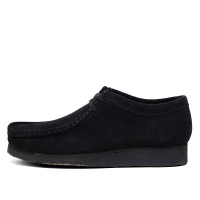 CLARKS ORIGINALS [WALLABEE] (BLACK SUEDE)