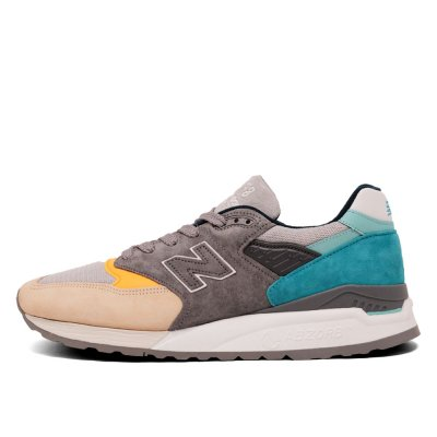 NEW BALANCE [ M998AWB MADE IN U.S.A ] (GREY&BLUE)