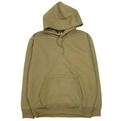 <img class='new_mark_img1' src='//img.shop-pro.jp/img/new/icons5.gif' style='border:none;display:inline;margin:0px;padding:0px;width:auto;' />BEDLAM [ASHRAM LOGO PULLOVER HOODIE] (OLIVE)