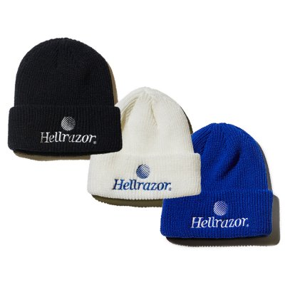 HELLRAZOR [TRADEMARK LOGO BEANIE] (3 COLORS)