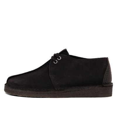 CLARKS ORIGINALS [DESERT TREK] (BLACK SUEDE)