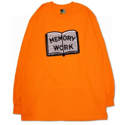 VOYAGE [MEMORY WORK L/S TEE] (ORANGE)