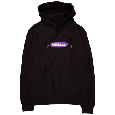 VOYAGE [SUNNY HOODED SWEATSHIRTS] (BLACK)