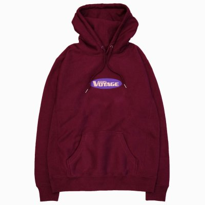 VOYAGE [SUNNY HOODED SWEATSHIRTS] (BURGUNDY)