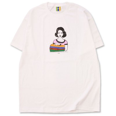 BEDLAM [LAUNDRY TEE] (WHITE)