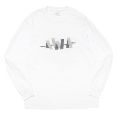 WHIMSY SOCKS [ W L/S TEE] (WHITE)