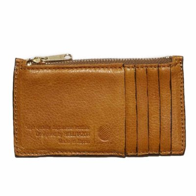 HELLRAZOR [LEATHER WALLET] (BEIGE)