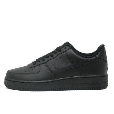 NIKE [AIR FORCE 1 '07 315122-001] (TRIPLE BLACK)