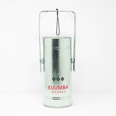 KUUMBA INTERNATIONAL [METAL CAN INCENSE BURNER-REGULAR SIZE-] (SILVER)