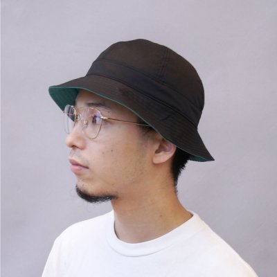 FOUND FEATHER [VEHICLE EXCLUSIVE 6PANEL SAFARI HAT] (BLACK)