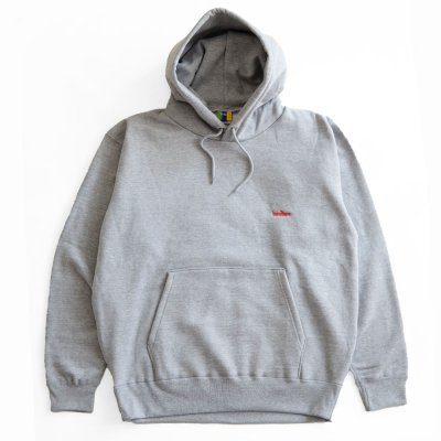 BEDLAM [ASHRAM LOGO PULLOVER HOODIE] (HEATHER GREY)