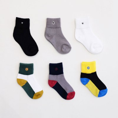 WHIMSY [VERSE KIDS SOCKS] (6 COLORS)
