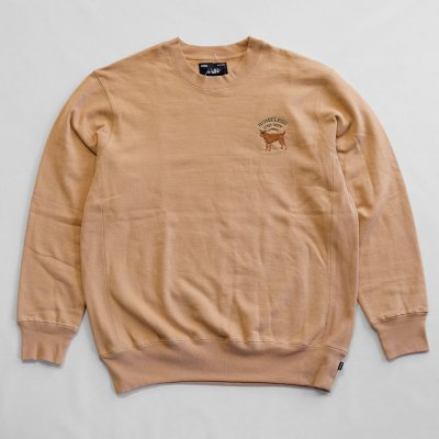 WHIMSY [HOT SPOT CREWNECK] (BEIGE)