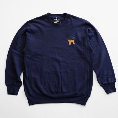 WHIMSY [HOT SPOT CREWNECK] (NAVY)