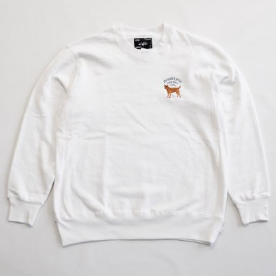 WHIMSY [HOT SPOT CREWNECK] (WHITE)