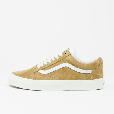 VANS [OLD SKOOL VN0A4BV518M] (P.SUEDE)BROWN