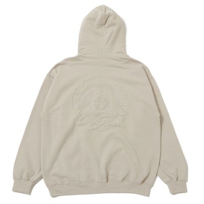 DIASPORA SKATEBOARDS [TONAL MAGIC CIRCLE HOODED SWEATSHIRT] (SAND)