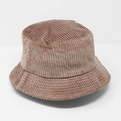 EN PLEIN AIR [WIDE WALE CORDUROY BUCKET HAT] (MUSHROOM)