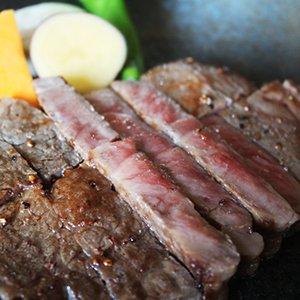 黒毛和牛ロースステーキ 200g
