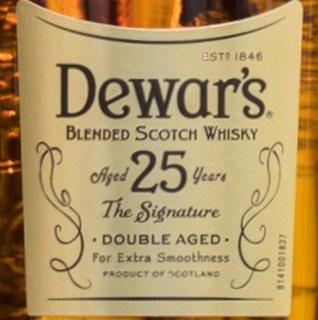 デュワーズ  25年