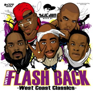 DJ Lil Jun/Flash Back -West Coast Classics-<BR>
