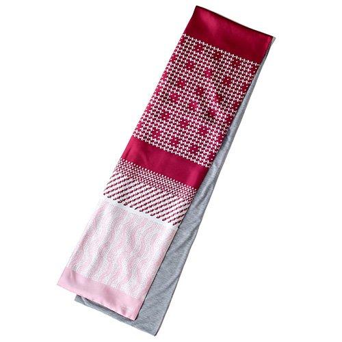 Knitting Fabric(NGP-131) 【the PORT by marca】 シルクツイル+ジャージー袋合わせ ナロースカーフ