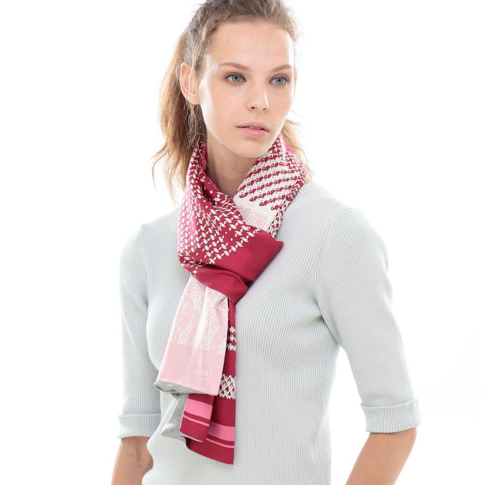 Knitting Fabric(NGP-131) 【the PORT by marca】 シルクツイル+ジャージー袋合わせ ナロースカーフの画像4