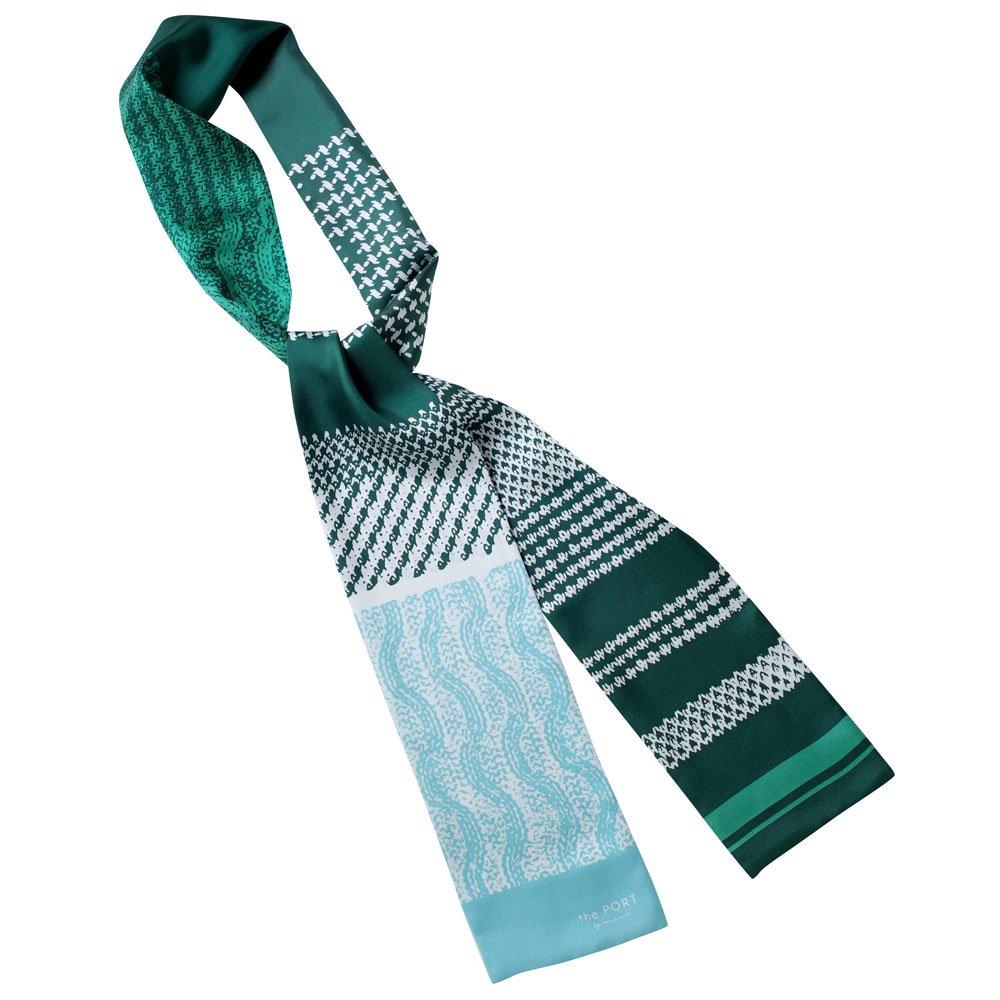 Knitting Fabric(NGP-131N) 【the PORT by marca】 シルクツイル ナロースカーフの画像10