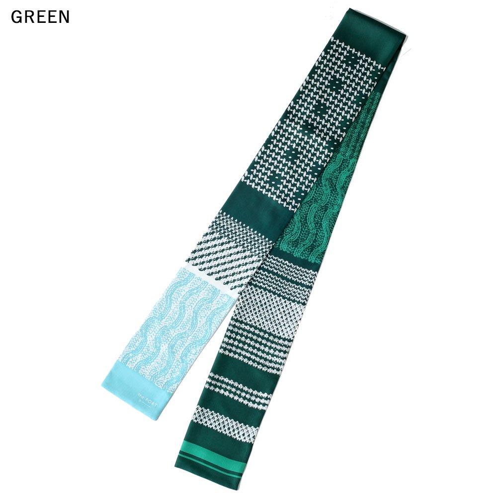Knitting Fabric(NGP-131N) 【the PORT by marca】 シルクツイル ナロースカーフの画像9