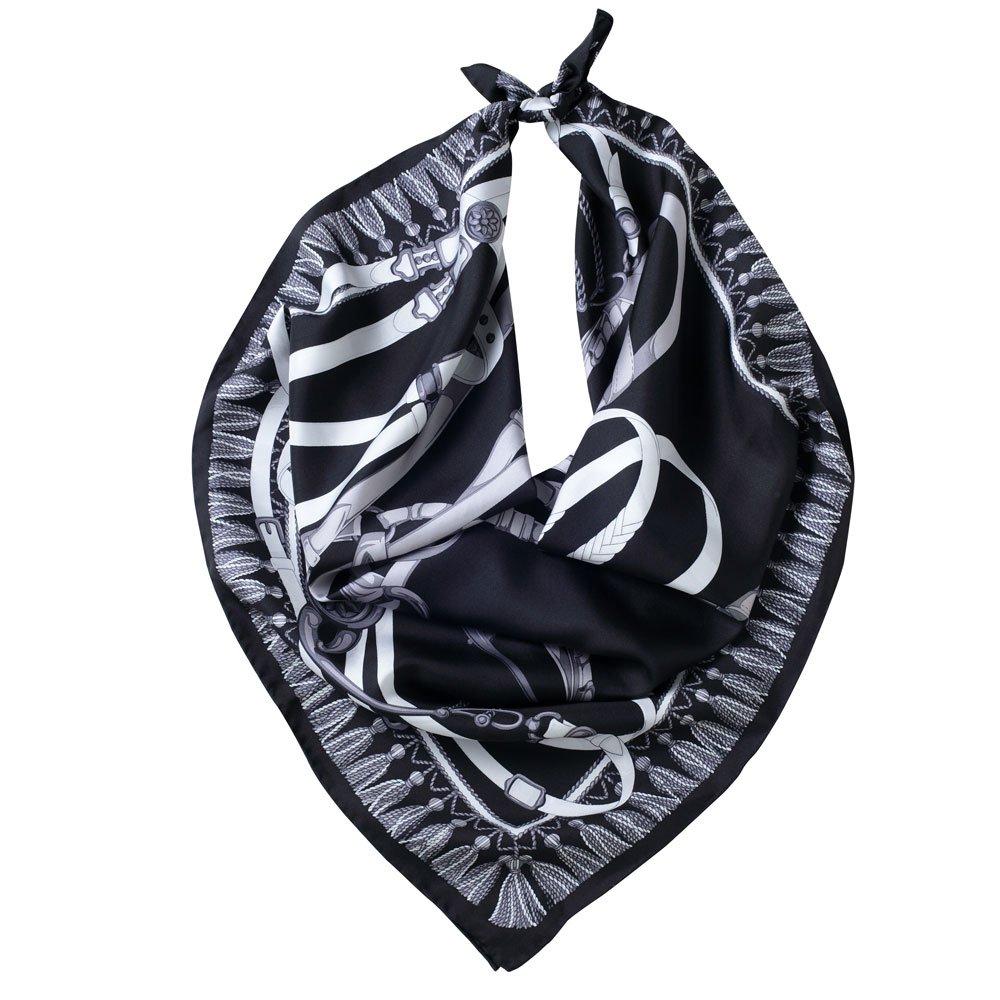 馬勒ベルト(CM5-310) Marcaオリジナル 大判 シルクツイル スカーフの画像1