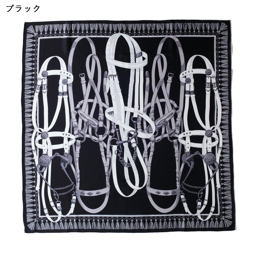 馬勒ベルト(CM5-310) Marcaオリジナル 大判 シルクツイル スカーフの画像2
