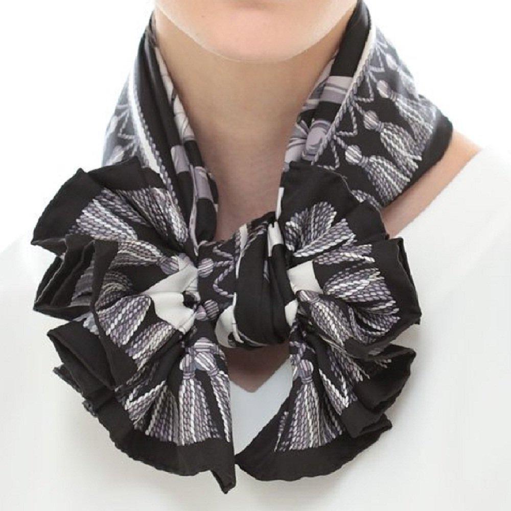馬勒ベルト(CM5-310) Marcaオリジナル 大判 シルクツイル スカーフの画像3