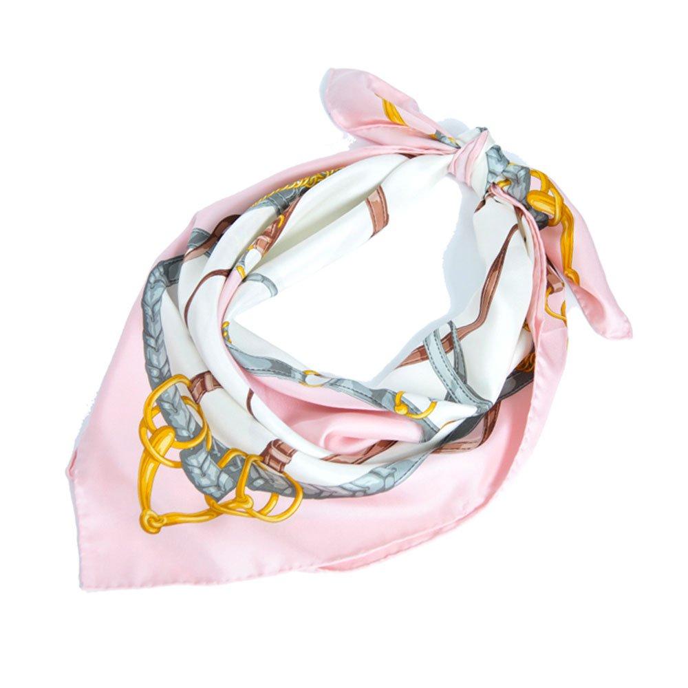 ベルト&ビット(CEK-090) Marcaオリジナル 大判 シルクツイル スカーフの画像1