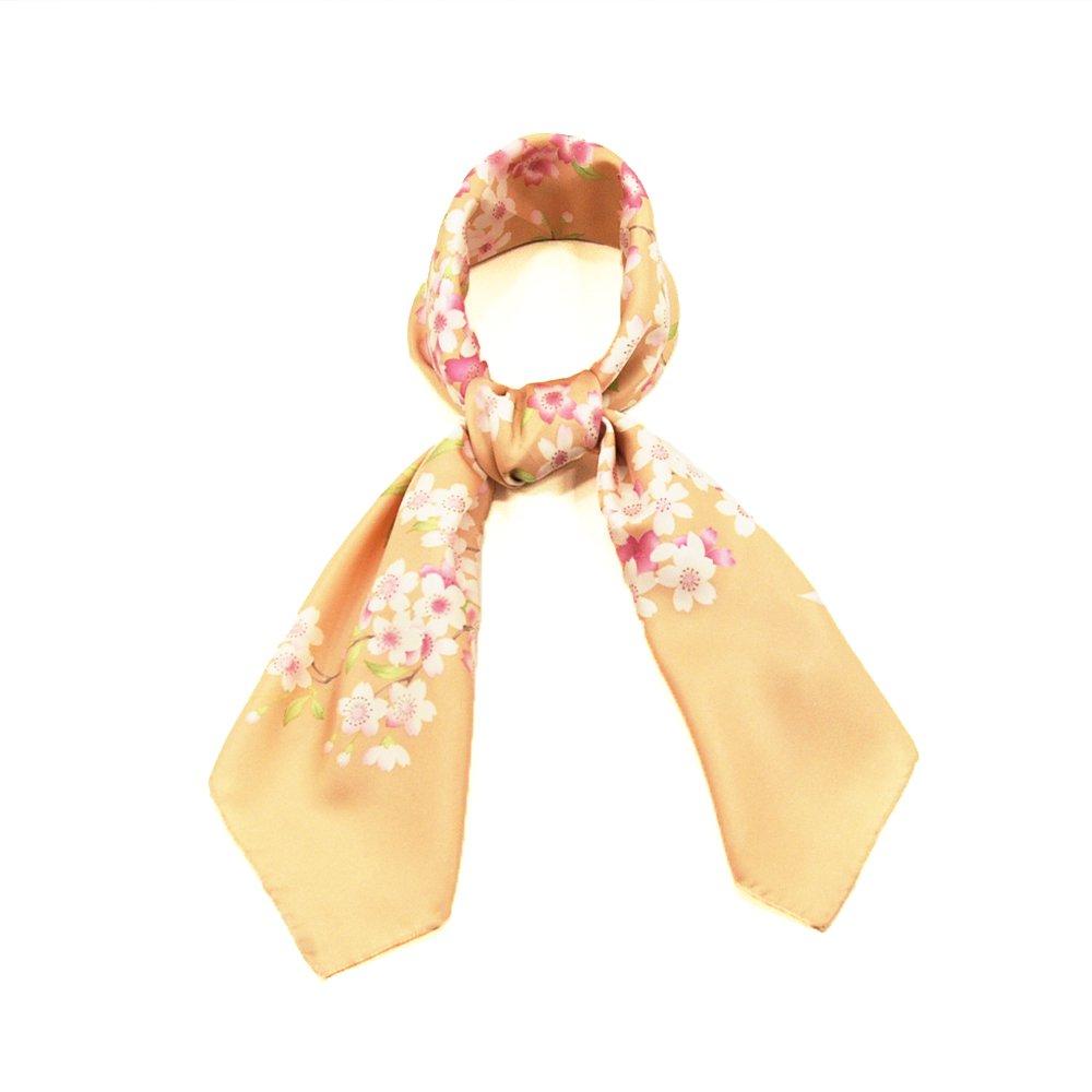 櫻花(CFD-020) 伝統横濱スカーフ 大判 シルクツイル スカーフの画像2