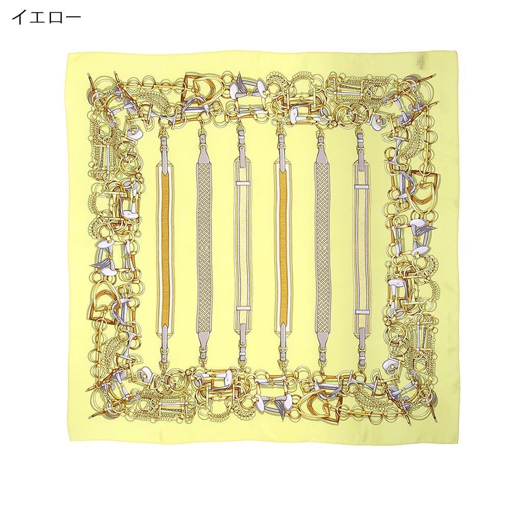 ビット・ベルト(CM5-305) Marcaオリジナル 大判 シルクデシン スカーフの画像2