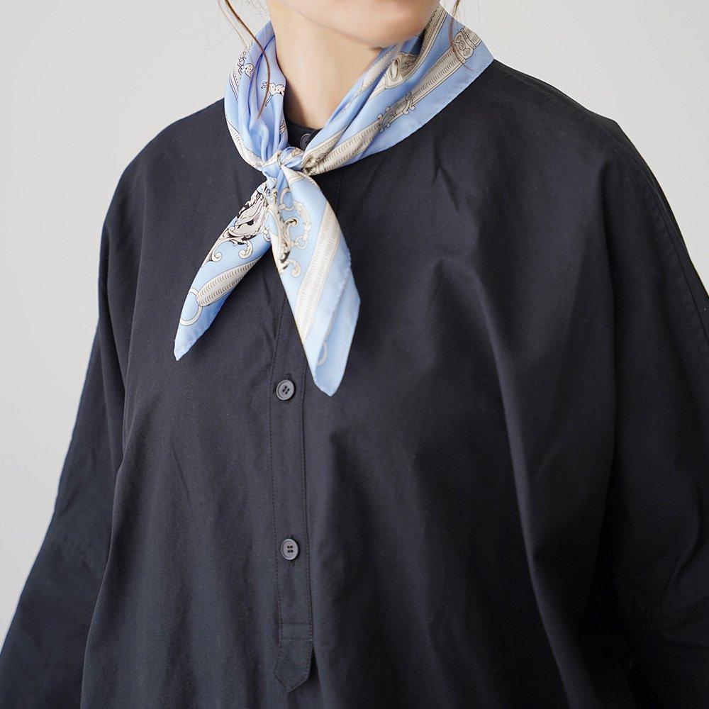 ドッグ(BEQ-111) Marcaオリジナル 小判 シルクツイル スカーフの画像1