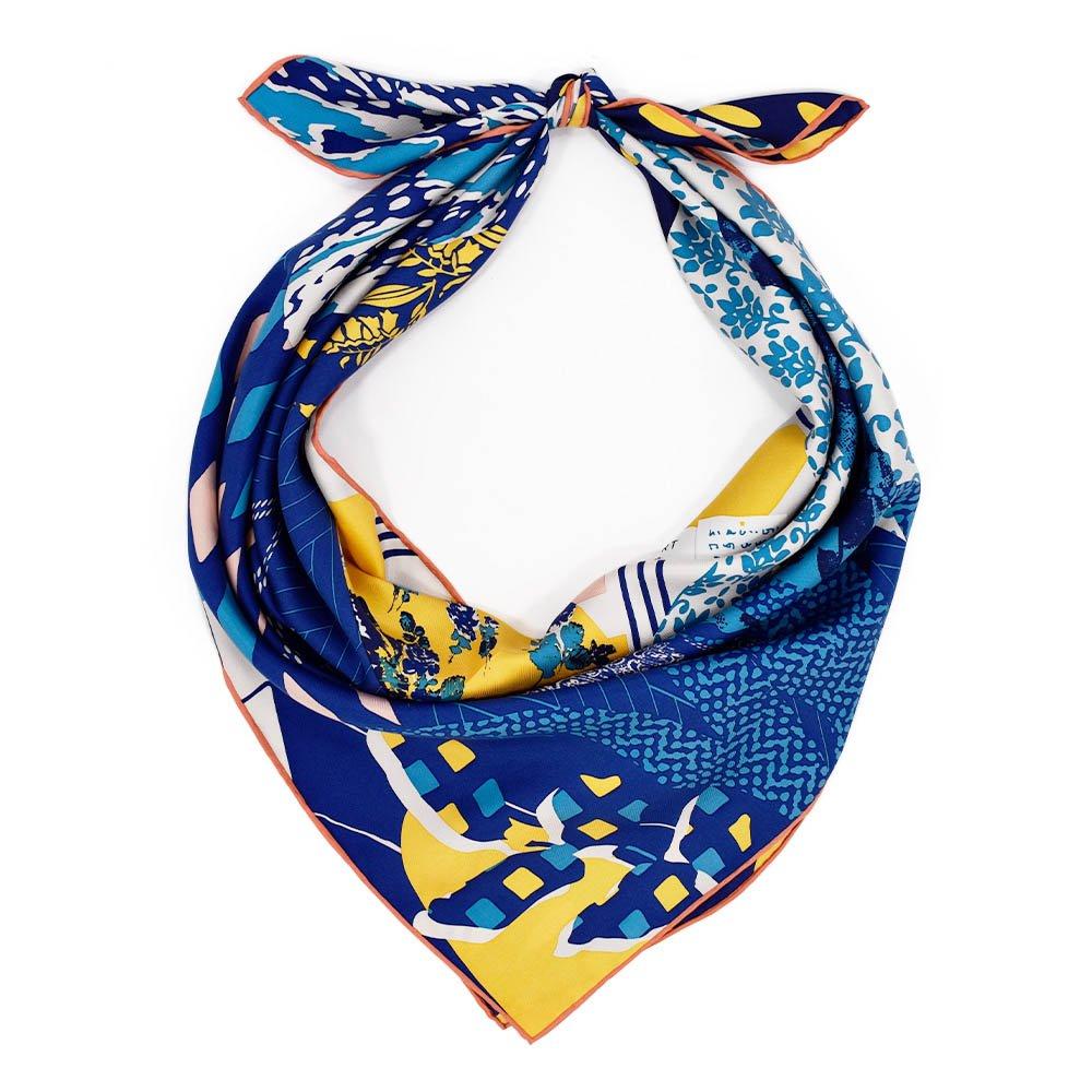 ROOM(CMQ-143) 【the PORT by marca】大判 シルクツイル スカーフの画像3