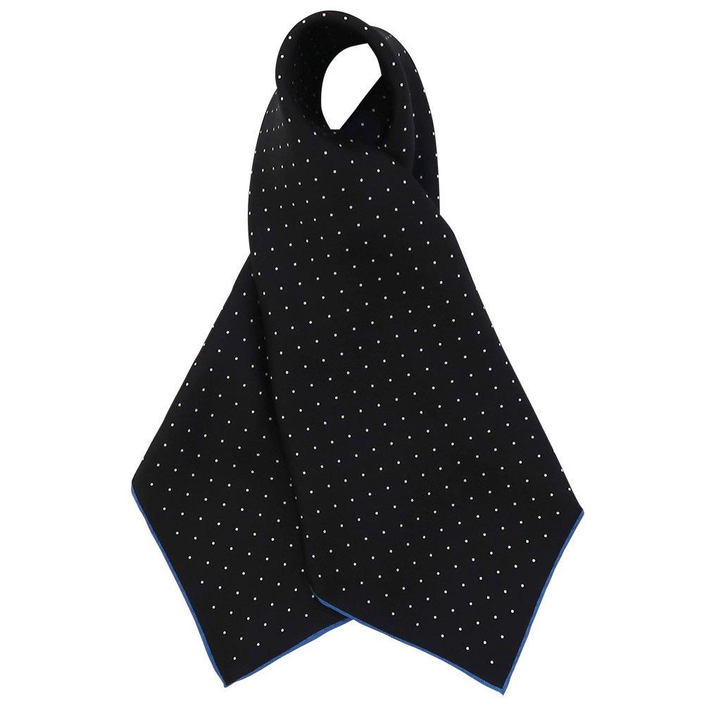 ピンドット(FOR-006) Marcaオリジナル 小判 シルクツイル スカーフの画像1