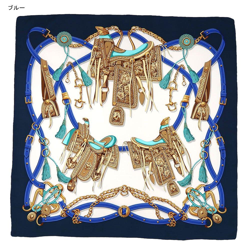 クラシックサドル(CEQ-095) 伝統横濱スカーフ 大判 シルクツイル スカーフの画像2