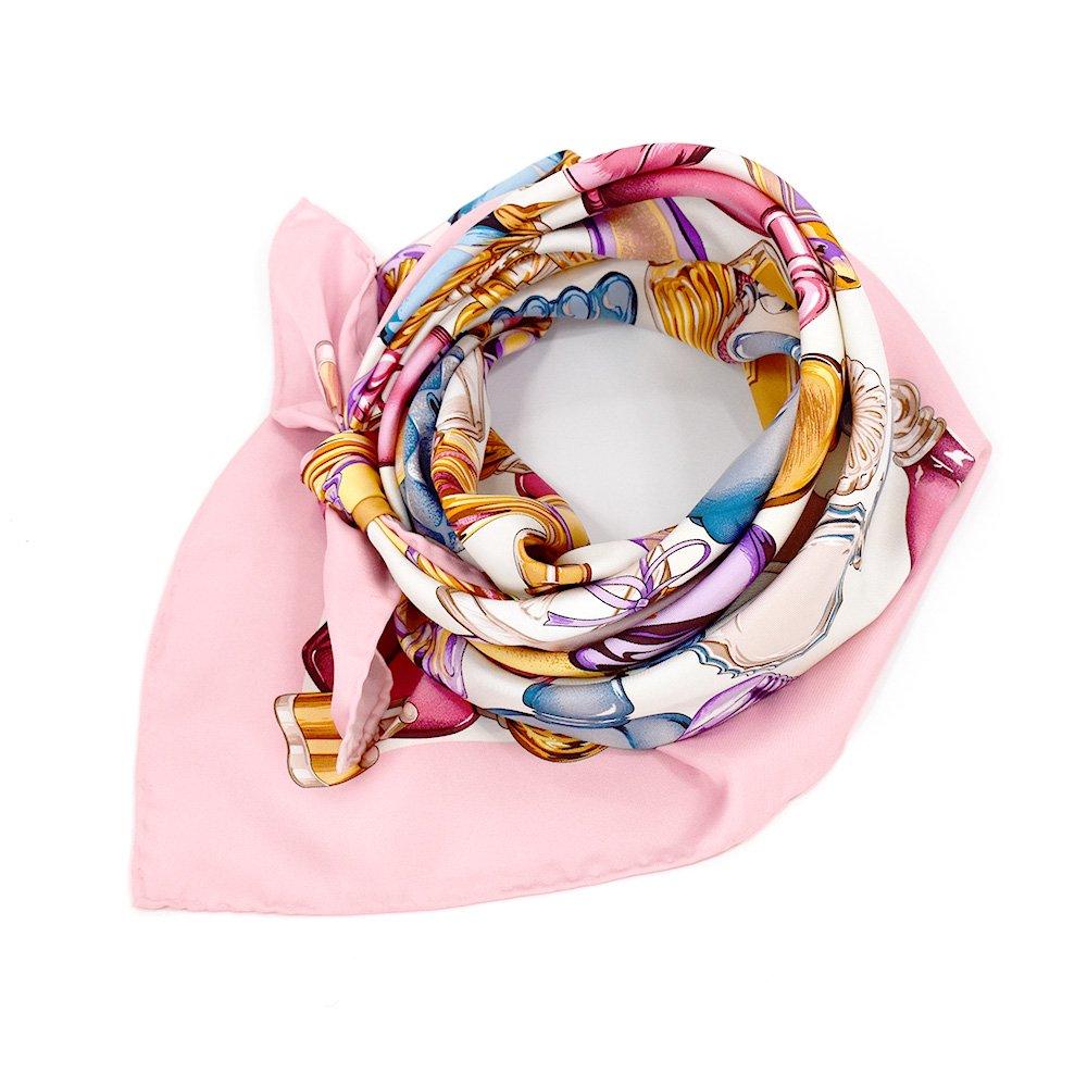 パフュームボトル (CM7-012) Marcaオリジナル 大判 シルクツイル スカーフの画像2