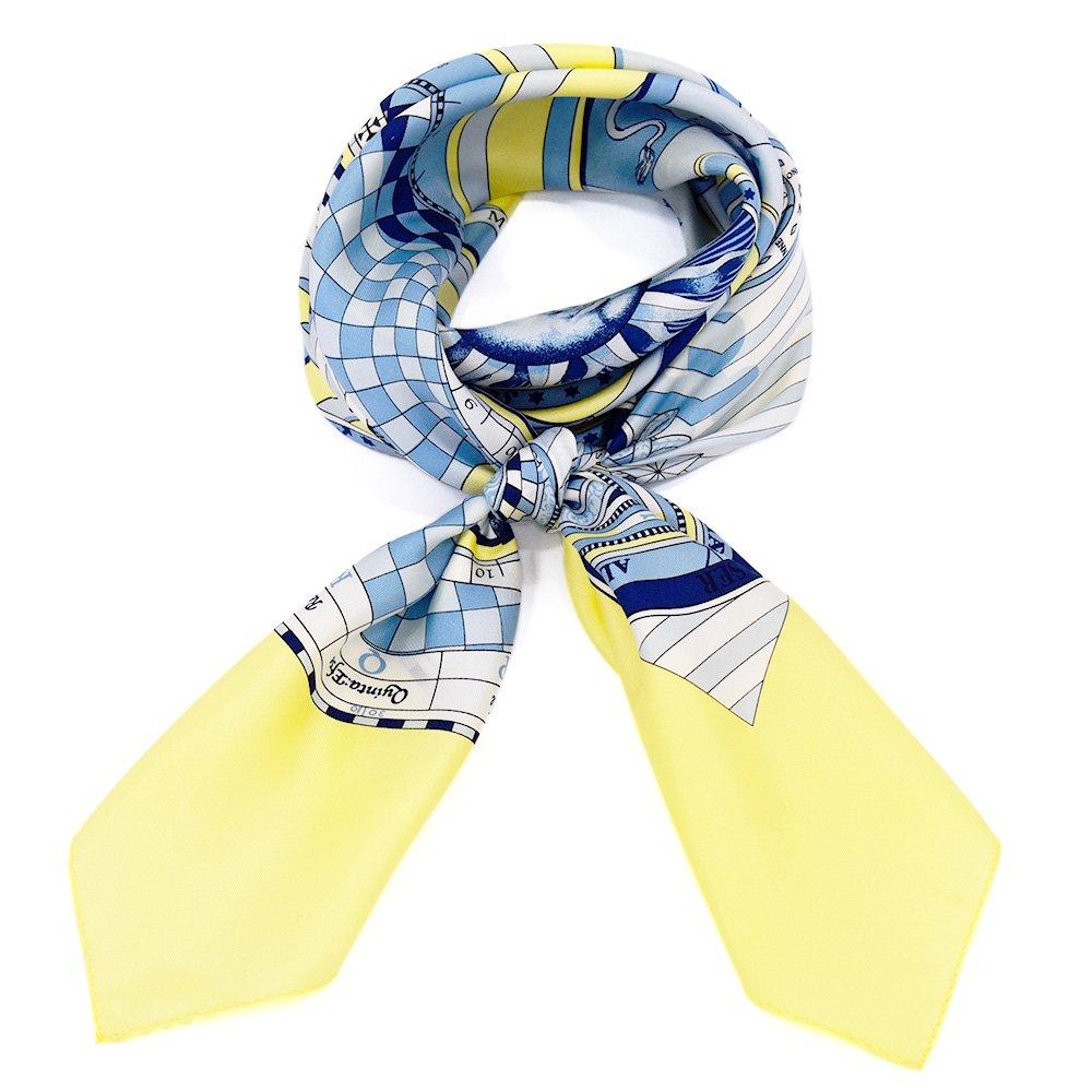 12宮 (CEQ-078) Marcaオリジナル 大判 シルクツイル スカーフの画像3