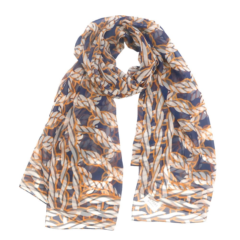Rope Knot LONG(CMR-103L) 【the PORT by marca】大判 シルクローン ストール