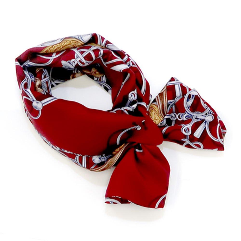 ビットメダル ナロースカーフ(NEN-075) Marcaオリジナル シルクツイル スカーフの画像4