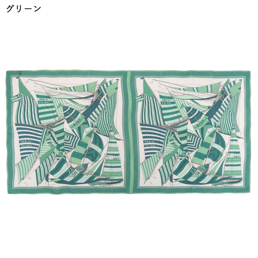 セーリング (CET-063L) Marcaオリジナル 大判 シルクローン ストールの画像4