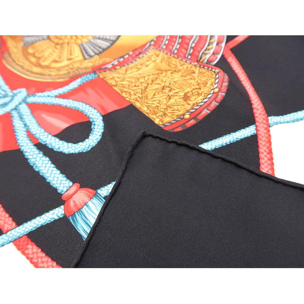 兜 弓と矢 太刀(CET-106) 伝統横濱スカーフ 大判 シルクスカーフの画像6